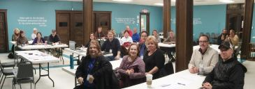 At the February, 2018 meeting of the Jefferson County, Missouri Bicentennial Committee
